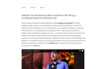 http://www.martijnboersma.com/religion-for-atheists-alain-de-botton