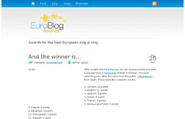 http://www.euroblogawards.com/2009/04/25/and-the-winner-is/#more-77
