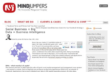 http://www.mindjumpers.com/blog/2012/05/big-data-applications/