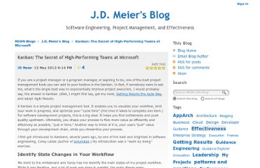 http://blogs.msdn.com/b/jmeier/archive/2012/05/13/kanban-the-secret-of-high-performing-teams-at-microsoft.aspx