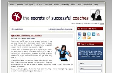 http://www.thesecretsofsuccessfulcoaches.com/screwupyourbusiness/