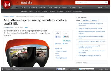 http://www.cnet.com.au/ariel-atom-inspired-racing-simulator-costs-a-cool-19k-339337683.htm