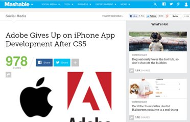 http://mashable.com/2010/04/21/adobe-gives-up-flash-iphone/