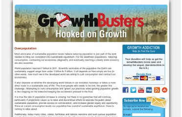 http://www.growthbusters.org/issues/population-growth/