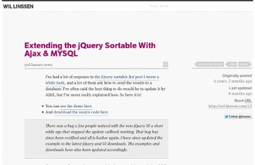 http://linssen.me/entry/extending-the-jquery-sortable-with-ajax-mysql/