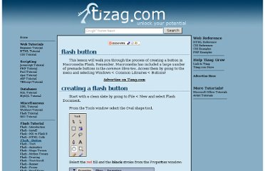 http://www.tizag.com/flashTutorial/flashbutton.php