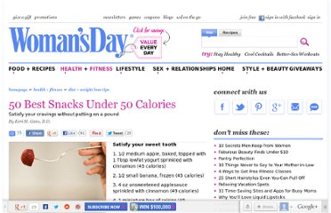 http://www.womansday.com/health-fitness/diet-weight-loss/50-Best-Snacks-Under-50-Calories