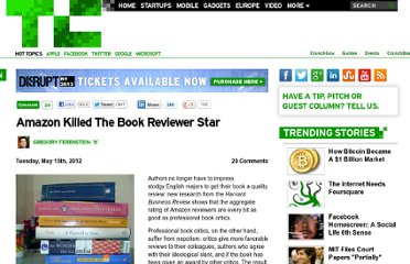http://techcrunch.com/2012/05/15/amazon-killed-the-book-reviewer-star/
