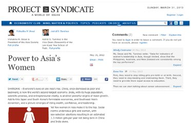 http://www.project-syndicate.org/commentary/power-to-asia-s-women
