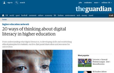 http://www.guardian.co.uk/higher-education-network/blog/2012/may/15/digital-literacy-in-universities