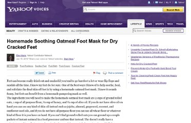http://voices.yahoo.com/homemade-soothing-oatmeal-foot-mask-6192534.html