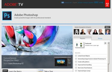 http://tv.adobe.com/product/photoshop/