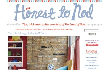 http://blog.landofnod.com/honest-to-nod/2011/09/try-this-vintage-ruler-wall-d%C3%A9cor.html