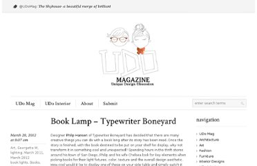 http://udomag.com/site/book-lamp-typewriter-boneyard/