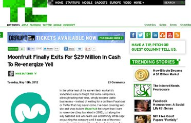 http://techcrunch.com/2012/05/15/moonfruit-finally-exits-for-29-million-in-cash-to-re-energise-yell/