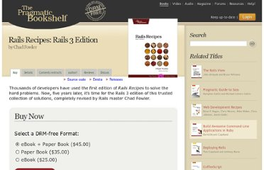 http://pragprog.com/book/rr2/rails-recipes