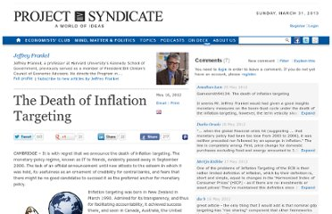 http://www.project-syndicate.org/commentary/the-death-of-inflation-targeting