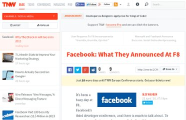 http://thenextweb.com/socialmedia/2010/04/21/facebook-what-they-announced-at-f8/