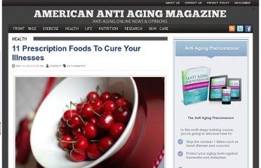 http://www.americanantiagingmag.com/11-prescription-foods-to-cure-your-illnesses/