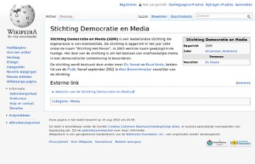 http://nl.wikipedia.org/wiki/Stichting_Democratie_en_Media