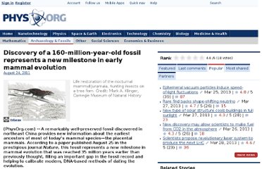 http://phys.org/news/2011-08-discovery-million-year-old-fossil-milestone-early.html