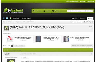http://forum.frandroid.com/topic/82960-tuto-android-v235-rom-officielle-htc-s-on/