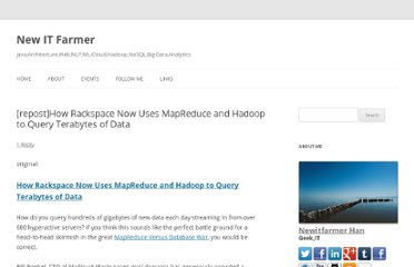 http://blog.newitfarmer.com/architecture/website/1198/reposthow-rackspace-now-uses-mapreduce-and-hadoop-to-query-terabytes-of-data