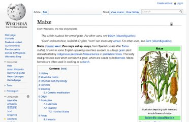 http://en.wikipedia.org/wiki/Maize