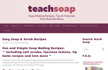 http://teachsoap.com/easy-soap-recipes/#sheabutter