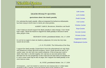 http://www.notable-quotes.com/d/death_penalty_quotes.html