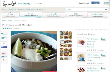 http://recipes.slides.kaboose.com/126-easy-dinners-15-minutes-or-less