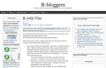 http://www.r-bloggers.com/r-with-vim/