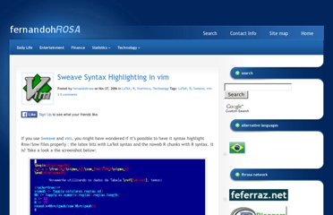http://www.fernandohrosa.com.br/en/P/sweave-syntax-highlighting-in-vim/