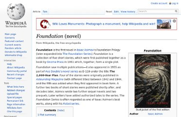 http://en.wikipedia.org/wiki/Foundation_%28novel%29