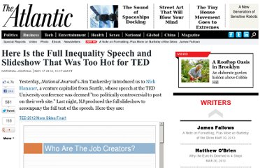 http://www.theatlantic.com/business/archive/2012/05/here-is-the-full-inequality-speech-and-slideshow-that-was-too-hot-for-ted/257323/