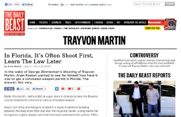 http://www.thedailybeast.com/articles/2012/05/17/in-florida-it-s-often-shoot-first-learn-the-law-later.html