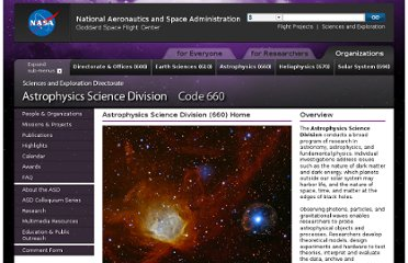http://science.gsfc.nasa.gov/sed/index.cfm?fuseAction=home.main&&navOrgCode=660