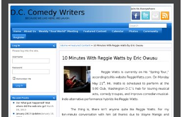 http://www.dccomedywriters.com/members-content/10-minutes-with-reggie-watts-by-eric-owusu/