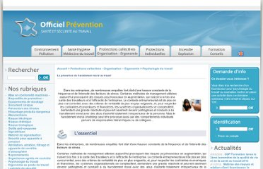 http://www.officiel-prevention.com/protections-collectives-organisation-ergonomie/psychologie-du-travail/detail_dossier_CHSCT.php?rub=38&ssrub=163&dossid=403sur+le+harc%C3%A8lem