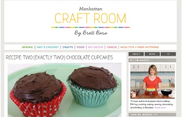 http://www.brettbara.com/baking/recipe-two-exactly-two-chocolate-cupcakes/