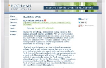 http://www.hochmanconsultants.com/articles/seo-friendly-flash.shtml