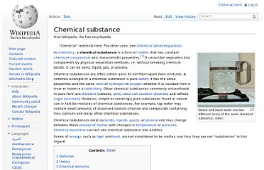 http://en.wikipedia.org/wiki/Chemical_substance