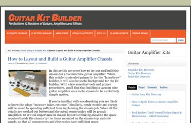 http://guitarkitbuilder.com/content/how-layout-and-build-guitar-amplifier-chassis