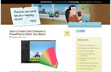 http://www.articulate.com/rapid-elearning/how-to-create-color-schemes-in-powerpoint-to-match-your-brand/