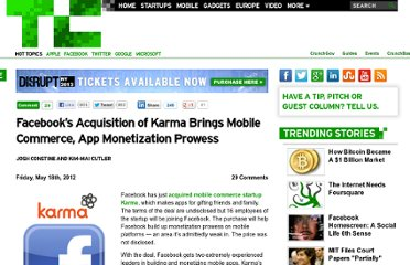 http://techcrunch.com/2012/05/18/facebook-acquires-karma/