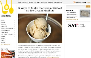 http://www.thekitchn.com/how-to-make-ice-cream-without-an-ice-cream-machine-171060