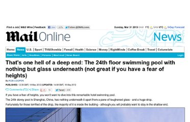 http://www.dailymail.co.uk/news/article-2146335/Thats-hell-deep-end-The-24th-floor-swimming-pool-glass-underneath-great-fear-heights.html