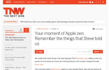 http://thenextweb.com/shareables/2012/05/19/your-moment-of-apple-zen-remember-the-things-that-steve-told-us/