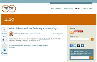 http://www.seerinteractive.com/blog/when-advanced-link-building-no-rankings