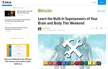 http://lifehacker.com/5911636/learn-the-built+in-superpowers-of-your-body-and-brain-this-weekend